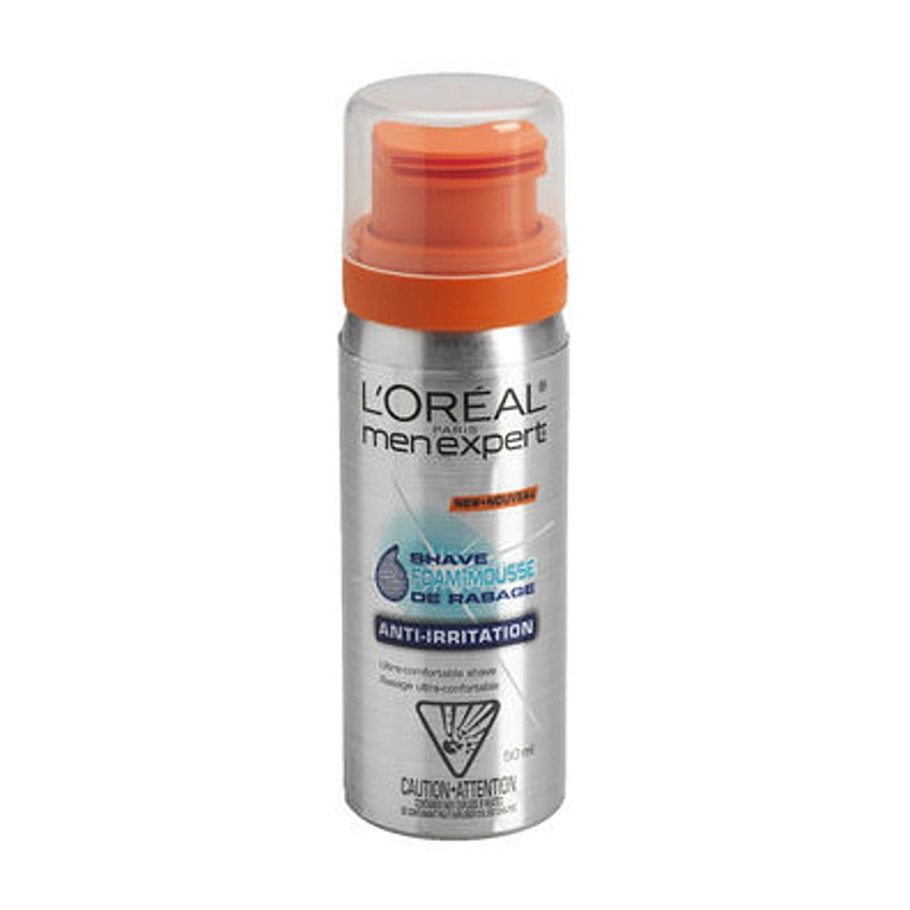 Loreal Men Expert Anti Irritation Shave Foam 50ml The Beauty Store White