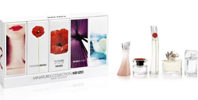 Kenzo Miniatures Fragrance Collection Travel Set