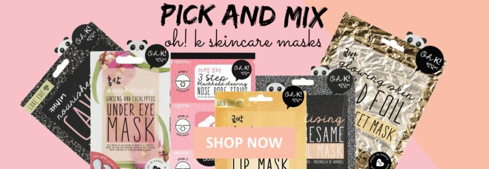 Pick and Mix our Oh! K Skincare Masks