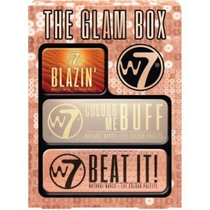 W7 Cosmetics The Glam Box Eyeshadow Palette Trio