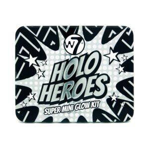 W7 Holo Heroes Super Mini Glow Kit