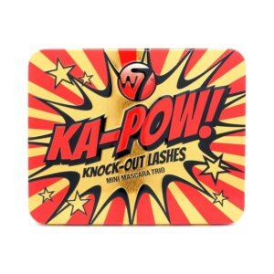 W7 Ka-Pow! Knock-Out Lashes Mini Mascara Trio Set