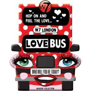 W7 Love Bus Makeup Collection
