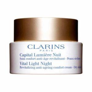Clarins Vital Light Night Revitalizing Anti-Ageing Comfort Cream 50ml