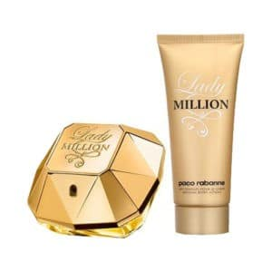 Paco Rabanne Lady Million 80ml Set with Body Lotion