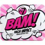 W7 Bam! High Impact Highlighter Trio