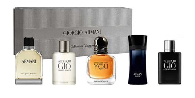 Giorgio Armani The Men's Collection Miniature Fragrance Gift Set