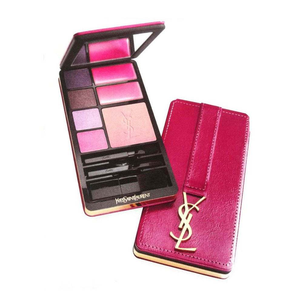 new arrivals ebd70 449e2 Yves Saint Laurent Travel Selection Very YSL Make-Up Palette Pink Edition