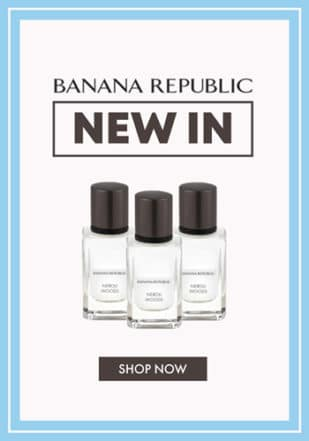 Banana Republic Feature Menu Promo