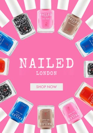 Nailed London Feature Menu Promo