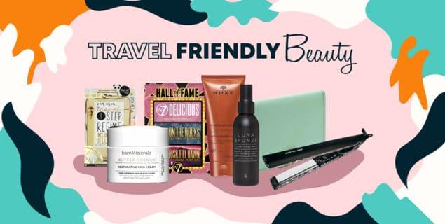 Travel Friendly Beauty Blog Image