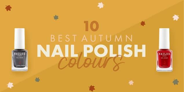 The 10 Best Autumn Nail Polish Colours