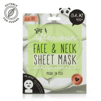 Oh K! After Sun Face & Neck Sheet Mask