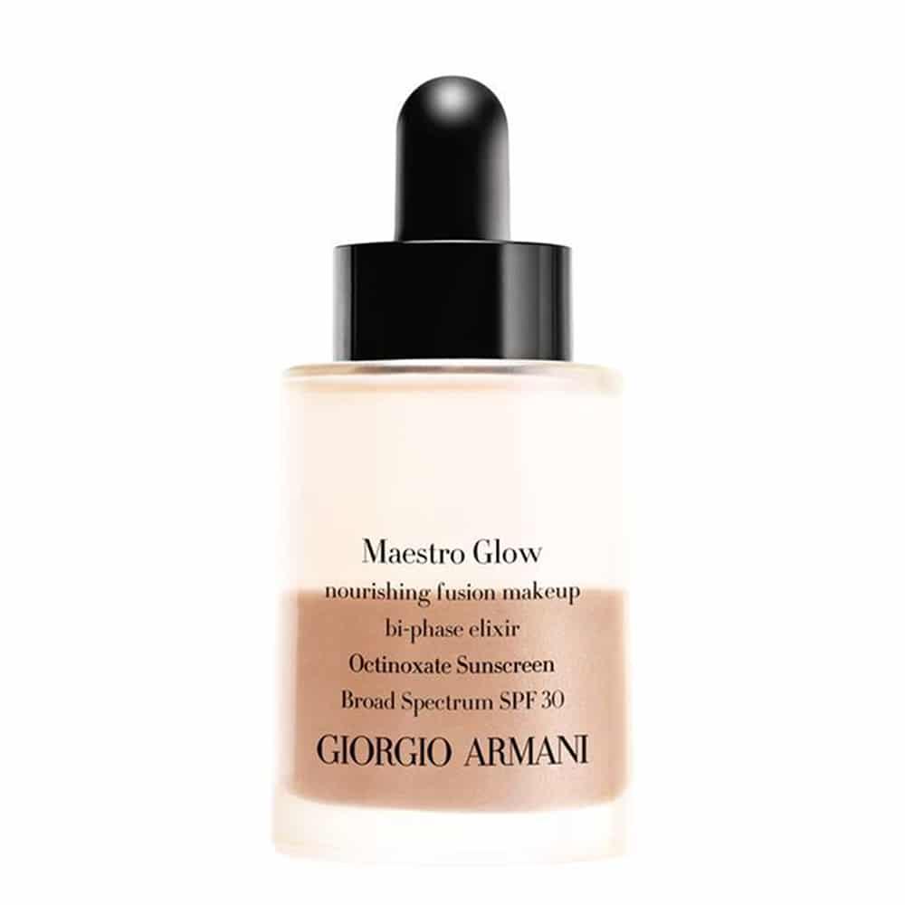 Armani Maestro Glow Foundation   A Model Recommends