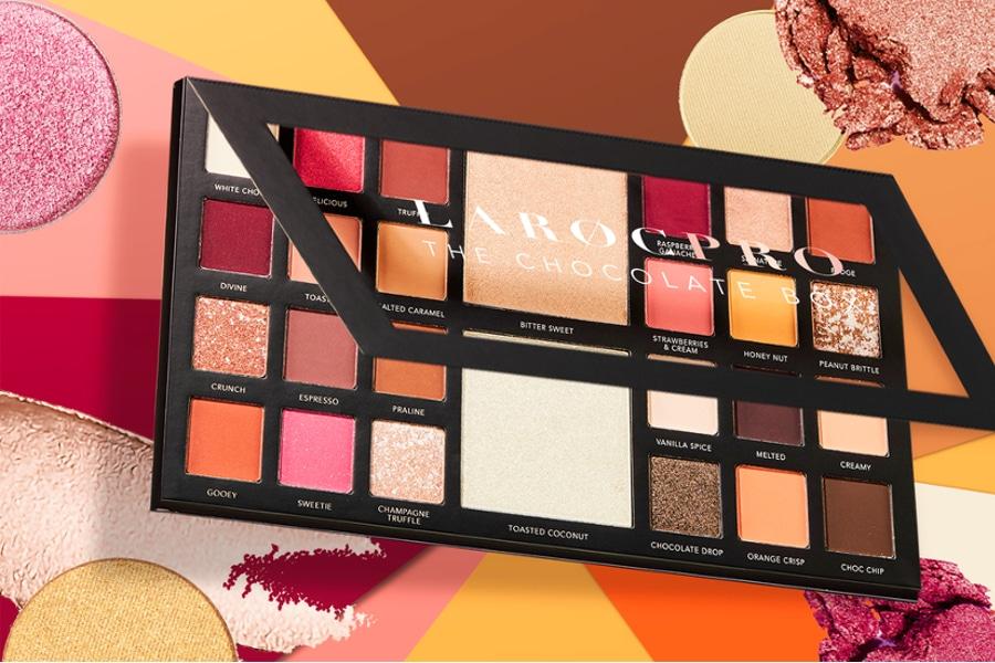 LaRoc Pro Eyeshadow Palettes - Homepage Slider Mobile