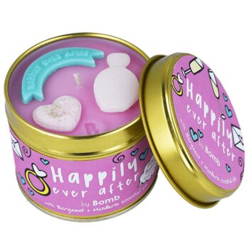Bomb Cosmetics Happily Ever After Bergamot & Mandarin Scented Tin Candle